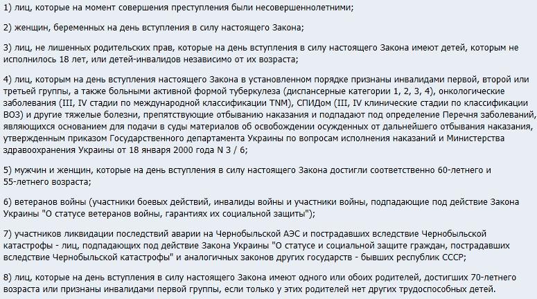 Образец заявления в суд о применении амнистии