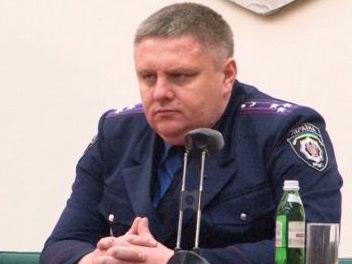 Новый начальник милиции города Харькова - Андрей Крищенко