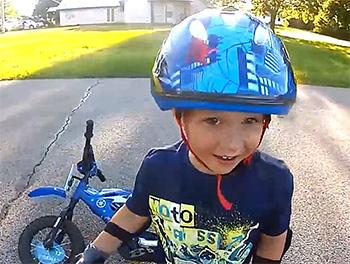 Как обезопасить ребенка для велопутешествий