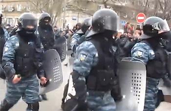 Министр МВД А.Аваков ликвидировал спецподразделение «Беркут»