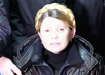 Ю.Тимошенко была освобождена из ЦКБ№5 и прилетела в Киев