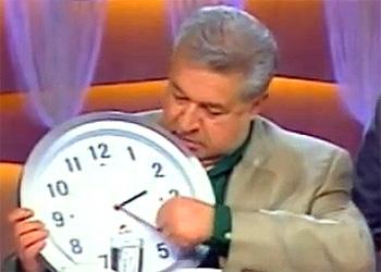 Перевод часов на летнее время состоится в ночь с субботы на воскресенье 30.03.2014