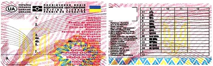 Когда украинцам начнут выдавать водительские удостоверения нового образца?