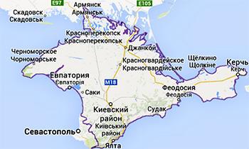 Подробные правила пересечения границы Украины с Крымом