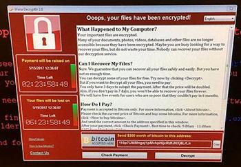 Как не стать жертвой интернет вируса-вымогателя «WannaCry»